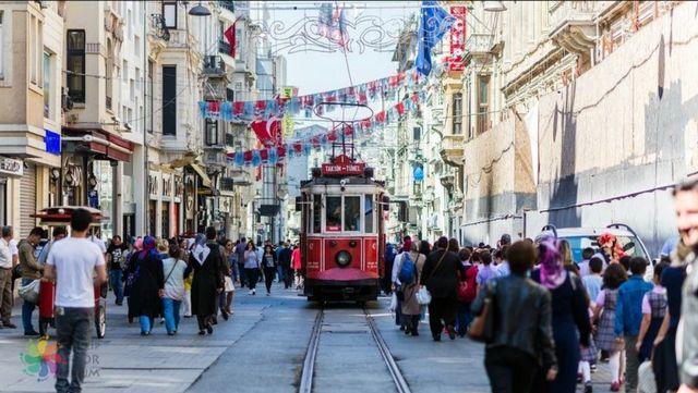 شوارع تركيا اسطنبول