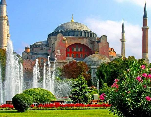 قصر السلطان سليمان في تركيا