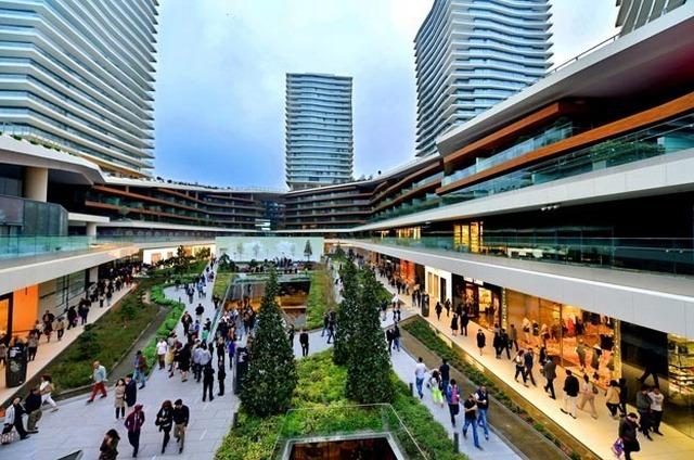مولات اسطنبول في القسم الاوروبي