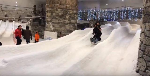 مول توريوم و ملاهي الثلج في اسطنبول
