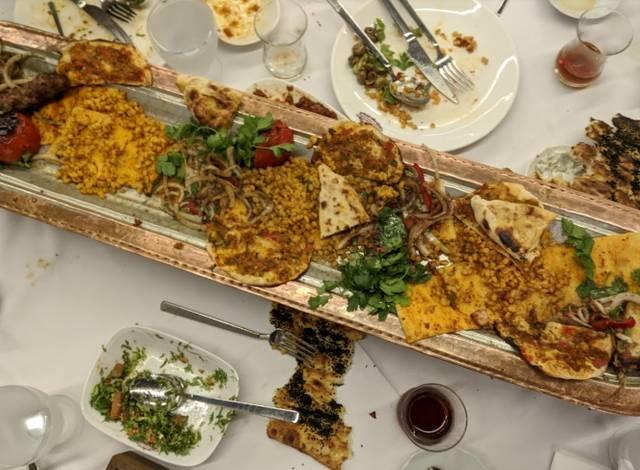 منيو مطعم المدينة اسطنبول