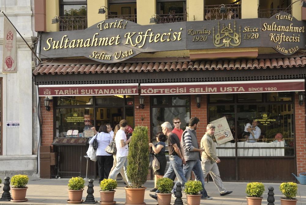 مطاعم السلطان احمد اسطنبول