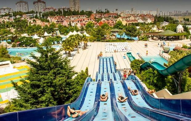 مدينة مائية في اسطنبول
