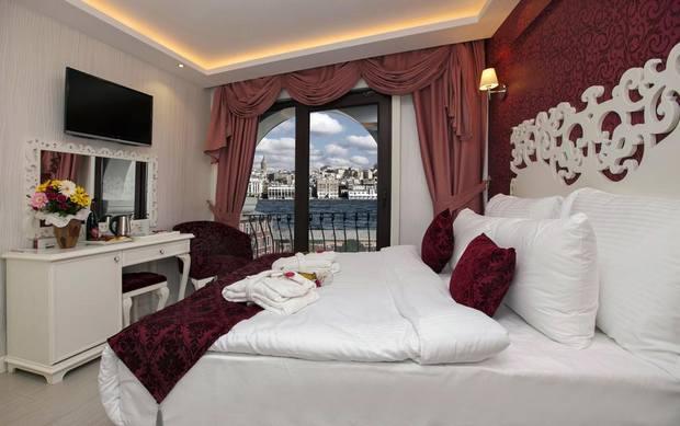 افضل فنادق اسطنبول على البحر