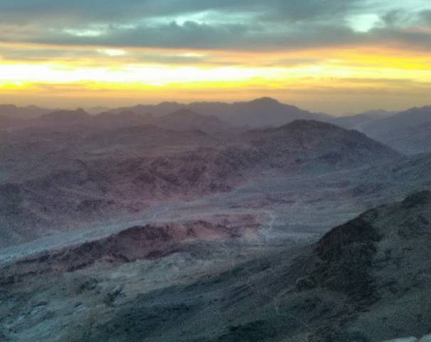 جبل موسى بسيناء