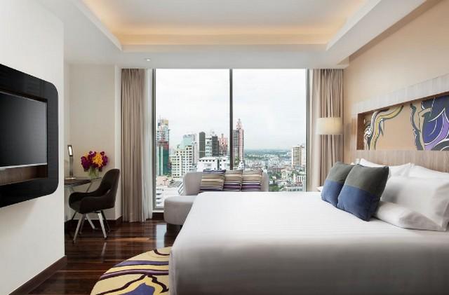 فندق نوفوتيل بانكوك من افضل فنادق في بانكوك للعوائل التي تُقدّم خدمات للأطفال.