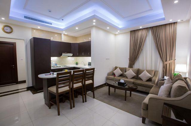 حديقة شمس للاجنحة يوفر غرف فسيحة ومُميزّة مما جعله من فنادق شارع قريش الفاخرة
