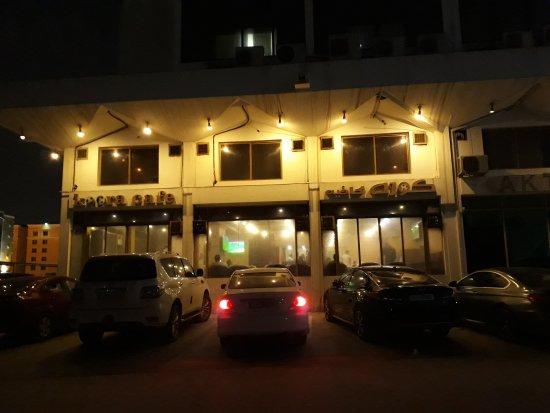 المقاهي في مدينة شرم
