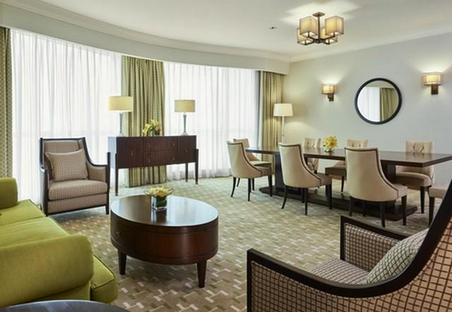 يضم فندق سويس اوتيل المقام مكة أجنحة من غُرفتيّ نوم.