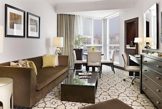 يتضمن فندق سويس اوتيل مكة خيارات مُتعددة للإقامة تشمل الغُرف العائلية.