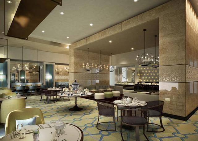 يضم سويس اوتيل مكه مطعم مُتخصص في المأكولات الأمريكية والعالمية.