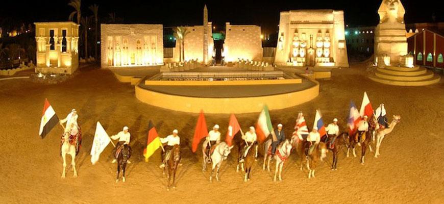 قرية الف ليلة وليلة شرم الشيخ
