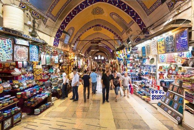 جراند بازار في اسطنبول
