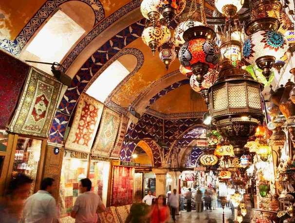 سوق البازار الكبير اسطنبول