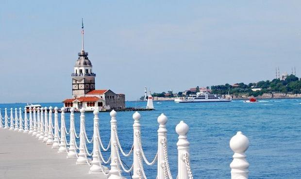 اين يقع برج البنات في اسطنبول