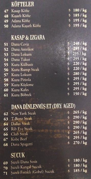 اسعار مطعم شازلي اسطنبول