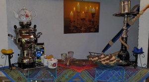 مقاهي الشيشة في تقسيم