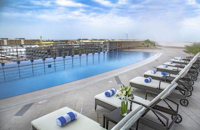 السلام للاجنحة الفندقية دبي من الشقق التي تُوّفر مساجات للجسم
