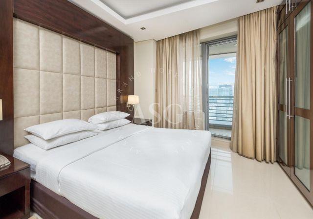 السلام للاجنحة الفندقية دبي من أماكن الإقامة العائلية حيث تُوّفر غُرف عائلية