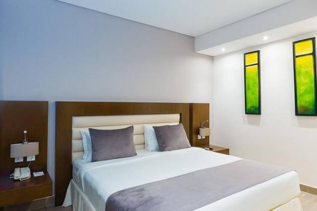يضم فندق أريبيان بارك غرف نظيفة ومُرتبة