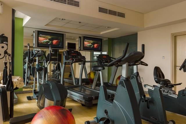 نادي اللياقة البدنية في أريبيان بارك دبي