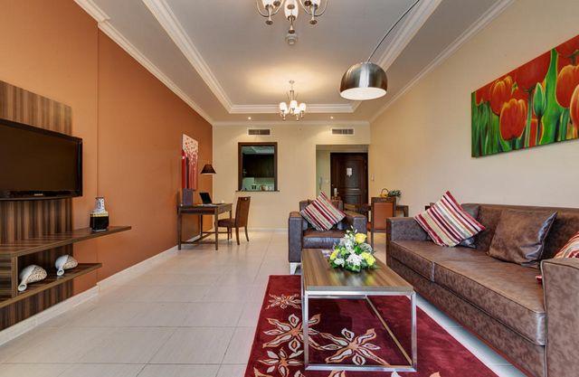 ابيدوس للشقق الفندقية دبي لاند من أفضل شقق في دبي رخيصة وقريبة من المطار.