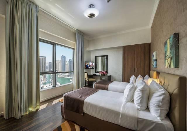 يضم سيتي بريميير مارينا للشقق الفندقية في دبي مسبح خارجي ومركز للياقة البدنية، ومركز عافية