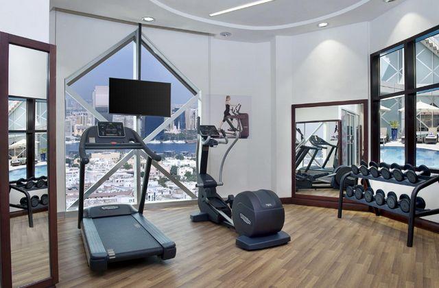 سيتي سيزنز تاور دبي يضم صالة لياقة بدنية مُجهّزة بشكل جيّد
