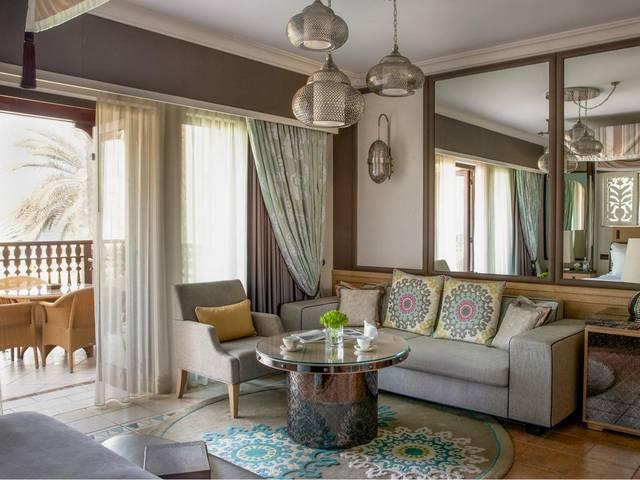 تتسم أجنحة فندق دار المصيف دبي بالنظافة.