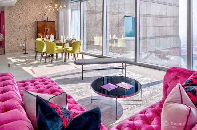 شقق برج جيت 48 دريم ان للشقق في دبي من شقق للايجار في دبي داون تاون التي تتميّز بإطلالات رائعة.