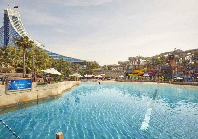 فندق دبي مع مسبح خاص