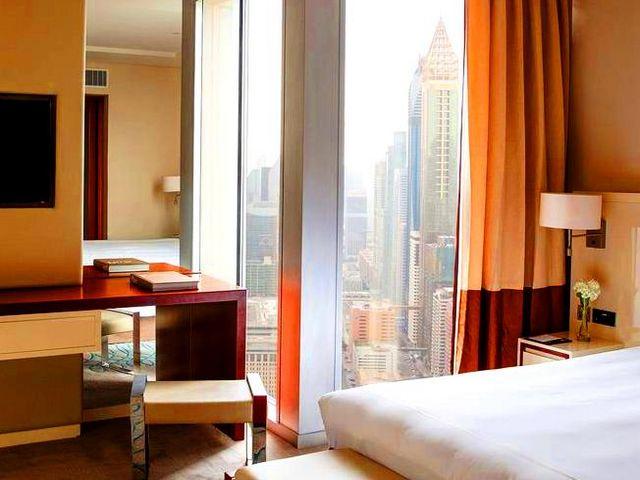 فندق جميرا ابراج الامارات من أفخم و ارقى فنادق دبي