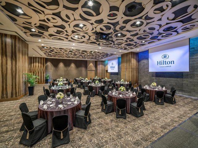 يُقدم هيلتون كوالالمبور فرصة رائعة لعقد الاجتماعات ومختلف المناسبات