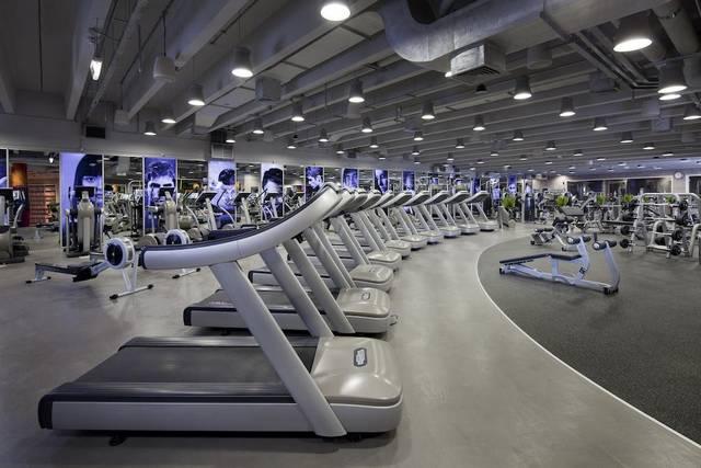 فندق جميرا ابراج الامارات يضم مركز لياقة بدني مُجهّز بالكامل