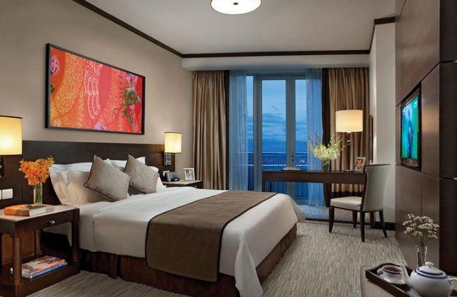 يتمتع فندق البرجين كوالالمبور بإطلالات خلابة على البرجين وأبرز معالم المدينة
