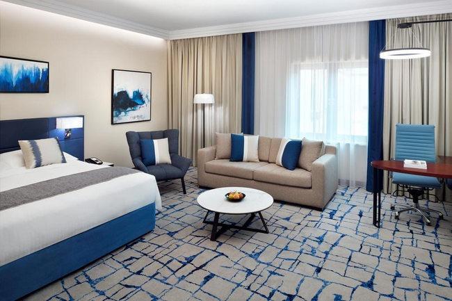 يضم جراند بلازا موفنبيك دبي غرف نظيفة ومُرتبة