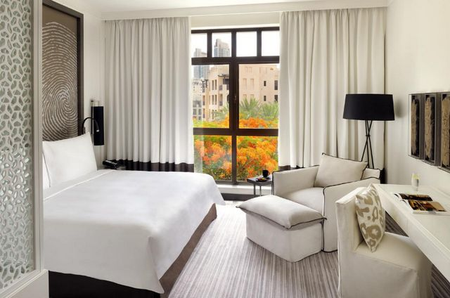 يضم فندق فيدا داون تاون دبي غرف ذات مساحات واسعة