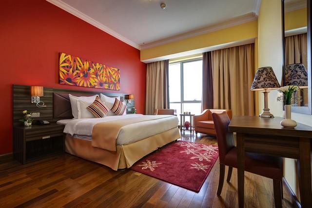 تُقدّم ابيدوس للشقق الفندقية دبي لاند إطلالات مُميّزة على المدينة.