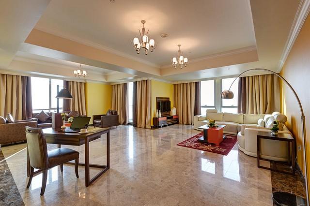 تُوّفر ابيدوس للشقق الفندقية دبي لاند شقق واسعة تسع حتى 6 أفراد.