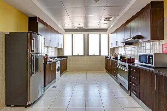 تضم شقق فندق ابيدوس دبي لاند مطابخ مُجهّزة بالكامل.
