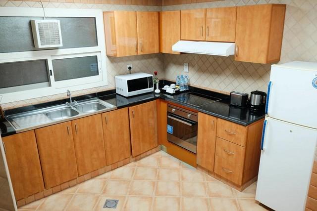 يتوّفر داخل شقق بيتي دبي مطبخ مُجهّز.