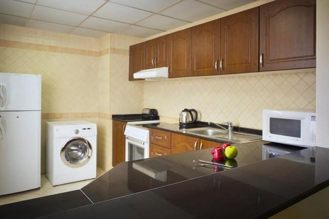 تتوفّر داخل تايم كريستال للشقق الفندقية البرشاء مطابخ مُجهّزة بالكامل.