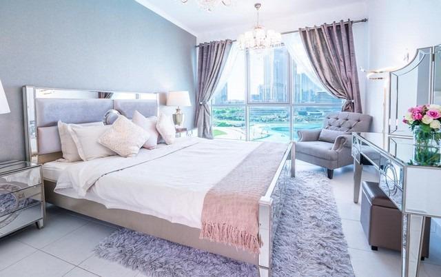 غُرف اليت رويال دبي تشتهر بالمساحات الواسعة