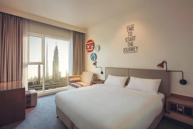 من أجمل فنادق دبي رخيصة هو فندق روف داون تاون دبي