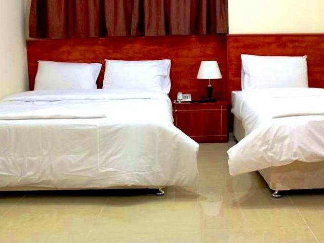 غرف فندق أفريكانا مُجهز بالكامل لراحة النزلاء