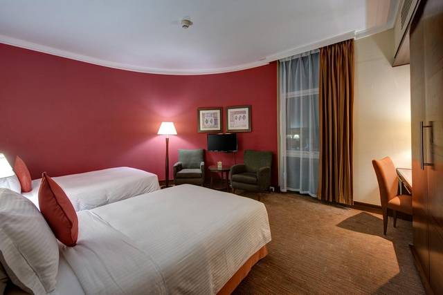 فندق جي 5 رمال من أرقى فنادق شارع المرقبات بدبي لضمه خدمات ومرافق مُميّزة