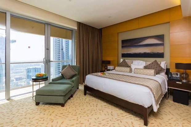 خيار رائع في شقق فندقية قريبة من دبي مول يوفر موقع ممتاز وأنشطة عديدة.