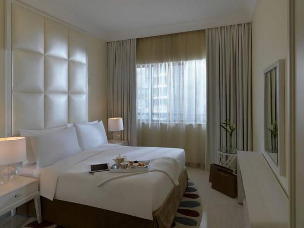 شقق داماك هي أحد أفضل ترشيحاتنا لقائمة شقق فندقية في دبي قريبة من دبي مول