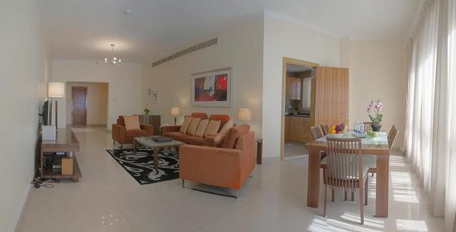 تتمتع شقق فندقيه دبي البرشا بوجود العديد من الخدمات الراقية