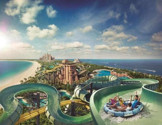 يتضمن فندق اتلانتس في دبي غُرف تحت الماء